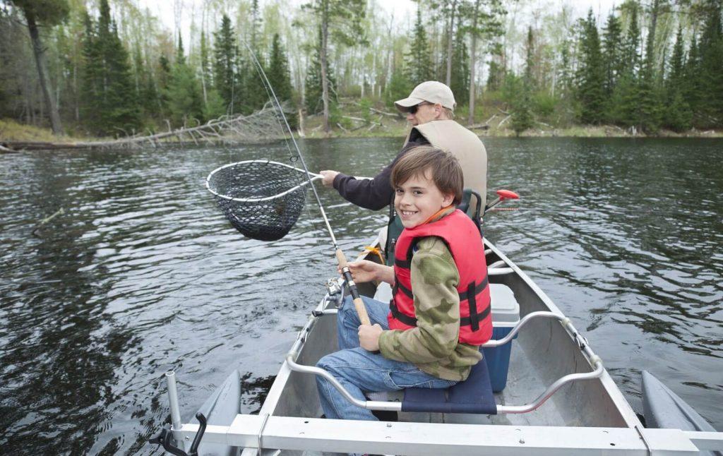 Catfishing with kid