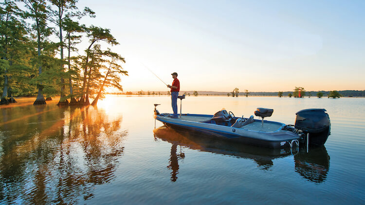Choose The Best Prey For Fishing - bass boats fishing