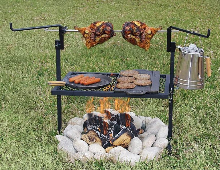Best Campfire Grill Grate for Cooking & Grilling